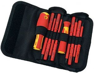 1000V VDE Interchangeable Bladed Screwdriver Set